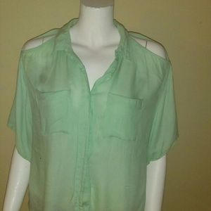 Silence + Noise blouse. Size Small